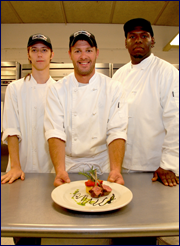 Garfield Park Academy - Chef Ed Battaglia and Culinary Arts students