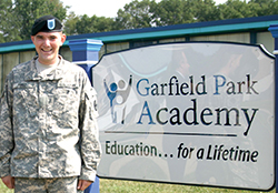 Garfield Park Academy grad now in military - Momentum Transition - private special education in Willingboro, NJ