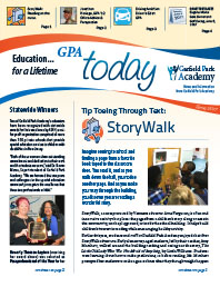 Garfield Park Academy - GPA Today newsletter