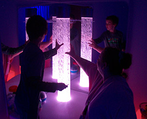 GPA Students in Sensory Room